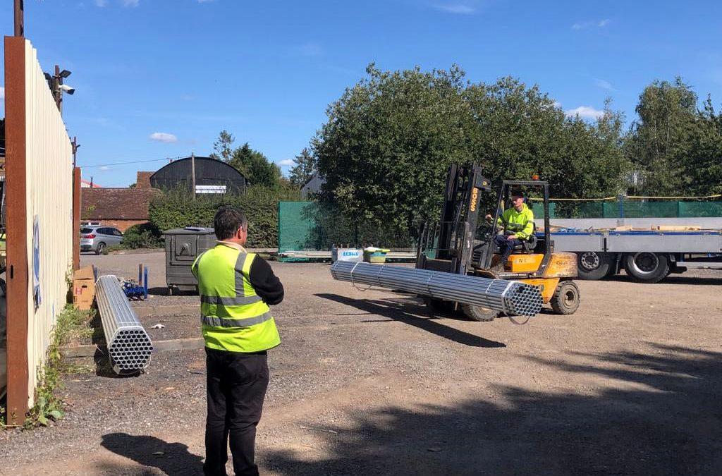Forklift Training at Leda Scaffolding